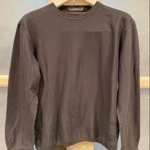 Ermenegildo Zegna Dark Navy Knit Sweater